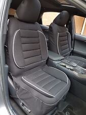 Pair New Comfort Lumbar Support 3D Airbag Seat Cushion Cover For Nissan Navara