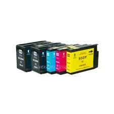 5PK 932XL 933XL Ink Cartridge NON-OEM for HP Officejet 6100 6600 6700 7110 7610