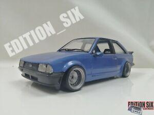 burago 1/24 FORD ESCORT XR3 MK3 Custom Modified code 3 one off replica car