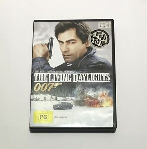 The Living Daylights - DVD - Region 4 - Timothy Dalton James Bond