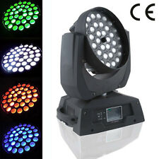 Touch screen 36X10W RGBW IN1 LED zoom moving head wash stage light free shipping