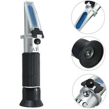 Brix 0-10% + Salinity 0-10% Dual Scale 2 in1 Refractometer for Beer and Aquarium
