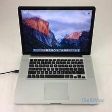 "Apple 2012 MacBook Pro 15"" 2.3GHz I7 128GB SSD 4GB MD103LL/A + C Grade +Warranty"