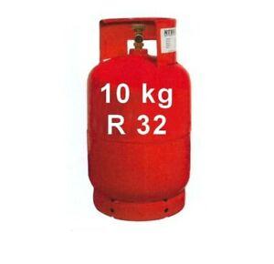 Gas R32, freon, ecológico. Envío gratis. Rojo.