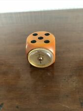 More details for vintage rolux french dice thermometer- bakelite