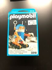 Playmobil Vintage Geobra  Space Robot Figure #3318 Moon walker German 1990 New