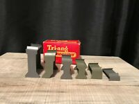 TRIANG HORNBY RAILWAYS R79 INCLINED PIERS SET OF SIX (535)