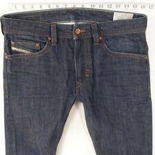 Mens Diesel THAVAR 0880G Slim-Skinny Blue Jeans W31 L34