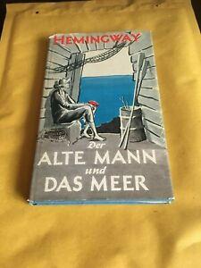 Der alte Mann und das Meer von Ernest Hemingway, Gebundene Ausgabe 1956, Rowohlt