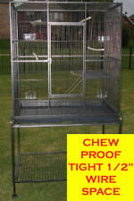 "64"" Large 1/2"" Spacing 4-Levels Ferret Chinchilla Sugar Glider Rabbit Rats Cage"
