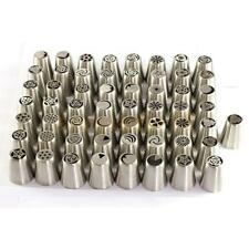 57 Style Russian Flower Icing Piping Nozzles Cake Decoration Tips Baking Tools