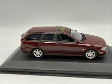 1/43 Minichamps 1996 Volvo V40 Break Maroon Red Metallic  Part # 430171512
