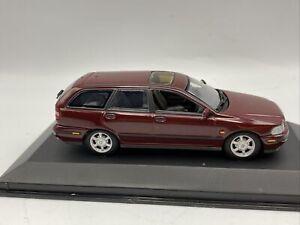 1/43 Minichamps 1996 Volvo V40 Break Maroon Red Metallic  Part # 430171512