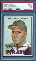 1967 Topps Bob Roberto Clemente Card #400 PITTSBURGH PIRATES Centered NM PSA 7
