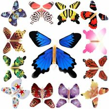 7Pcs Colorful Magic Flying Butterfly Toy Change From Empty Hands Book Tricks Hot