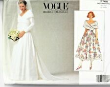 2cabaaf6cf470 Vogue Sewing Pattern 2768 Wedding Dress 12-16 Ladies Bridal Original UNCUT