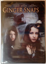 Ginger Snaps (DVD, 2005) Emily Perkins and Katharine Isabelle / Factory sealed