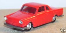 OLD 1960 MICRO EKO HO 1/86 1/87 MADE IN SPAIN BMW 700 ROUGE