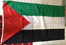 PALESTINIAN FLAG OF PALESTINE WITH EYELETS 5ftx3ft 90cm x 105cm West Bank Gaza