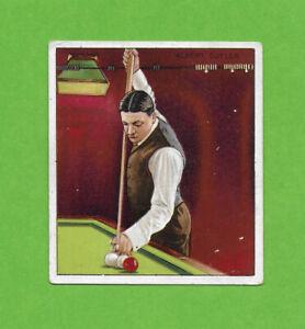1911 T218 Albert Cutler billiards pool Mecca back NICE!