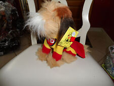 Carnation Mighty Dog a Dakin plush toy promotional item from 1984