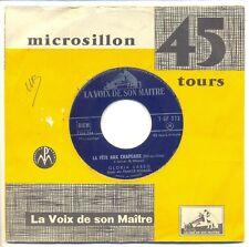 """GLORIA LASSO Vinyle 45T 7"""" EP LA FETE AUX CHAPEAUX - LE TORRENT -VOIX MAITRE 372"""
