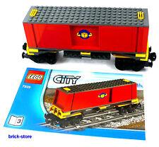 LEGO Chemin de fer Containerwaggon / Voiture en 7939