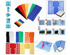 Laundry Clothes Folder: Flip Fold  Tshirt top speed magic folding board