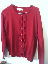 Jones New York Sport Small  Sweater  Ruby in color  NWT $74 Retail