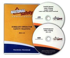 Forklift Operator Safety Training DVD Kit W/Employee Quiz, Certificate, and More