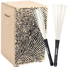 Tasche und Sitzpad  *TOPANGEBOT* Schlagwerk Cajon X-One CP-107 Fingerprint inkl