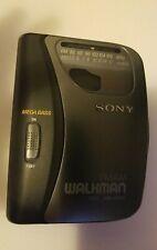 Sony Walkman Wm-Fx123 Am/Fm Radio Portable Cassette Player with Belt Clip. Works