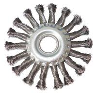 Lobinger® 115mm Zopfbürste Drahtbürste Scheibenbürste gezopft Rundbürste Flex