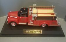 1951 FORD CHICAGO FIRE ENGINE 1:25 TRUCKS OF YESTERYEAR HALL OF FAME