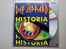 Def Leppard Historia LaserDisc CD Video RARE tracks not on DVD Never Played!