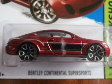 HOT WHEELS WORKSHOP BENTLEY CONTINENTAL SUPERSPORTS 192/250 MADE IN MALAYSIA B27