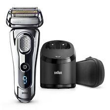 NEW BRAUN 9295CC Series 9 TITANIUM Wet & Dry Mens Cordless Electric Shaver