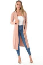 Cappotti e giacche da donna rosa fantasia nessuna fantasia con monopetto