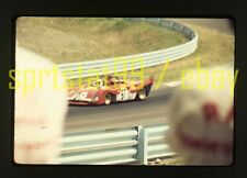 1972 Brian Redman #87 Ferrari 312 - Watkins Glen 6 Hours - Vtg 35mm Race Slide