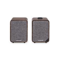 Ruark Audio MR1 MKII Bluetooth Inalámbrico Activo altavoces de sonido Rico Nogal NUEVO