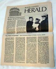 Two 1977 Beaver College (Arcadia University) in Glenside, PA Herald Newspapers