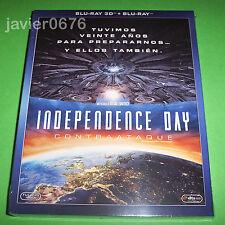INDEPENDENCE DAY CONTRAATAQUE BLU-RAY 3D + BLU-RAY NUEVO Y PRECINTADO