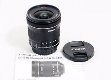 Canon EF-S 10-18mm f/4.5-5.6 EF-S IS STM Lens 60D 70D 7D t2i t3i t4i t5i t6i