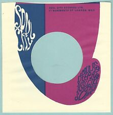 SOUL CITY REPRODUCTION RECORD COMPANY SLEEVES - (pack of 10)