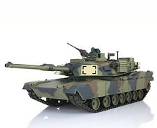 2.4Ghz 1/16 US M1A2 Abrams Airsoft IR Battle Tank w/Smoke & Sound RC RTR Camo