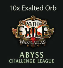 10 x Exalted Orb - Path of Exile / PoE 3.1 Currency for Abyss League Softcore SC