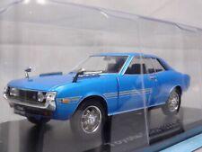 Toyota Celica 1600GT 1970 Blue 1/24 Big Scale Box Mini Car Display Diecast