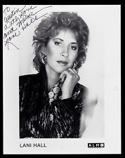 Lani Hall Hand Signed Autographed 8x10 Promo Photo Pop Singer Sun Down Lady