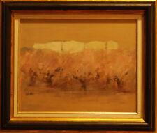 PAESAGGIO - Dipinto Originale a Olio 1900 - Carlo Saccardi (Montebello, Pavia)
