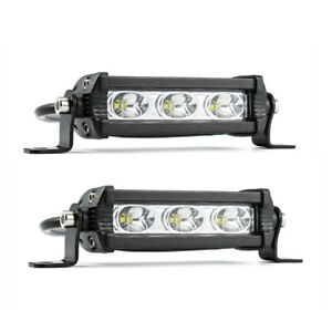 2PCS 30W Car LED Work Light Bar 3LED Waterproof Offroad Car Work Bulb headlight